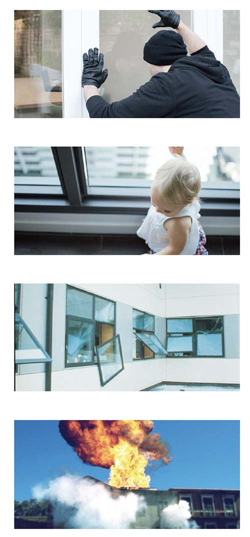 3M™ Safety & Security Window Film
