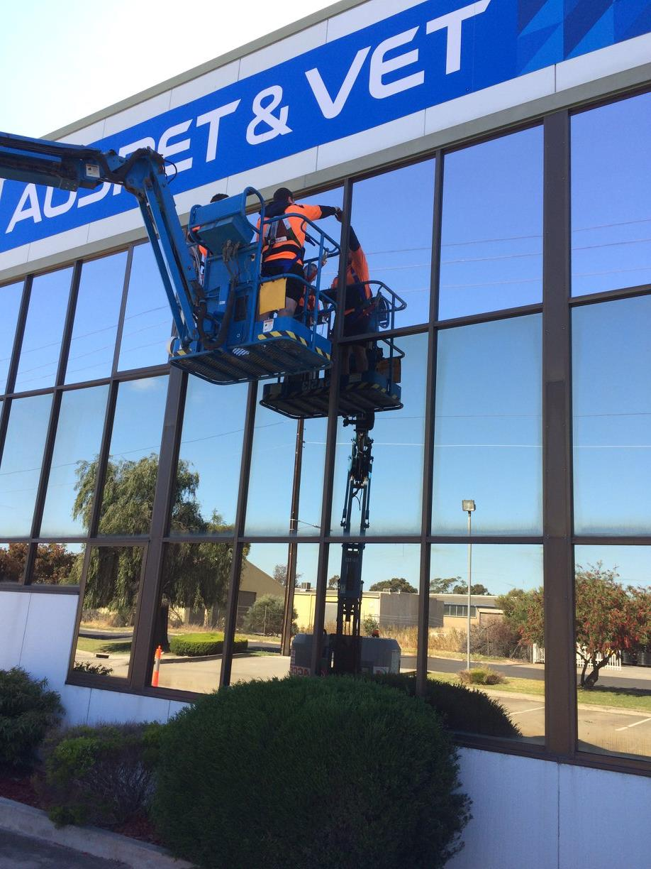 Commercial Solar Control Films for offices in Adelaide